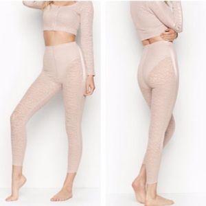 Victoria Secret Mesh Cheetah leggings!